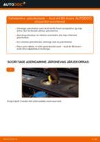 Samm-sammuline PDF-juhend AUDI A4 Avant (8E5, B6) Piduriketas asendamise kohta