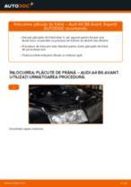 Aflați cum să ajustează Placute Frana față si spate AUDI