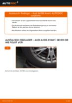 Tipps von Automechanikern zum Wechsel von AUDI Audi A4 B6 Avant 2.5 TDI quattro Kraftstofffilter