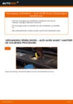 Hoe remblokken vooraan vervangen bij een Audi A4 B6 Avant – vervangingshandleiding