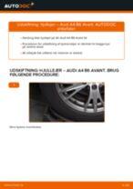 Udskift hjullejer bag - Audi A4 B6 Avant | Brugeranvisning