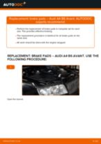 Auto mechanic's recommendations on replacing AUDI Audi A4 B6 Avant 2.5 TDI quattro Control Arm