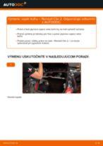 Návod na obsluhu RENAULT - manuál pdf