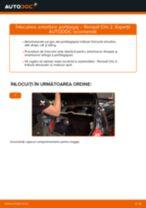 Manual de reparație RENAULT CLIO - instrucțiuni pas cu pas și tutoriale