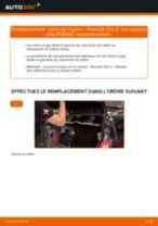 Manuel en ligne pour changer vous-même de Cylindre De Roue sur RENAULT CLIO II (BB0/1/2_, CB0/1/2_)