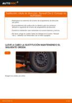 Cómo cambiar: rótula de dirección - Renault Clio 2 | Guía de sustitución