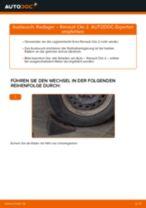RENAULT CLIO II (BB0/1/2_, CB0/1/2_) Spurstangengelenk ersetzen - Tipps und Tricks