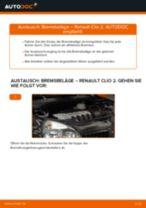 FERODO FDB1781 für CLIO II (BB0/1/2_, CB0/1/2_) | PDF Handbuch zum Wechsel