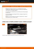 Comment changer : disques de frein avant sur Renault Clio 2 - Guide de remplacement
