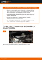 Reemplazar Kit de frenos de disco RENAULT CLIO: pdf gratis