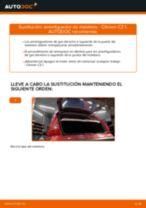Cómo cambiar: amortiguador de maletero - Citroen C3 1 | Guía de sustitución