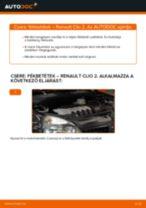 RENAULT THALIA javítási és karbantartási útmutató