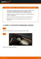 Autószerelői ajánlások - CITROËN CITROËN C3 I (FC_) 1.4 i Fékbetét csere