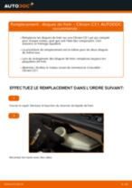 Comment changer : disques de frein avant sur Citroen C3 1 - Guide de remplacement