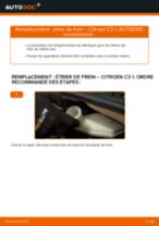 Changement Filtre à Carburant essence et diesel CITROËN C3 I (FC_) : guide pdf