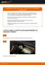 Cómo cambiar: discos de freno de la parte delantera - Citroen C3 1 | Guía de sustitución