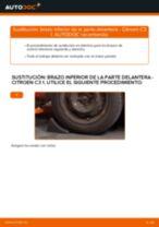 Cómo cambiar: brazo inferior de la parte delantera - Citroen C3 1 | Guía de sustitución