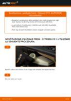 Come cambiare pastiglie freno della parte anteriore su Citroen C3 1 - Guida alla sostituzione