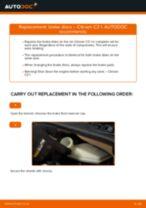 DIY VW change Transmission mount - online manual pdf