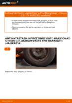 Πότε πρέπει να αλλάξει Ψαλίδια αυτοκινήτου CITROËN C3 I (FC_): εγχειριδιο pdf