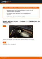 Nomaiņai Piekare CITROËN CITROËN C3 I (FC_) 1.4 i - remonta instrukcijas