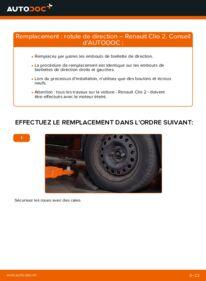 Comment effectuer un remplacement de Rotule De Direction sur 1.2 Renault Clio 2