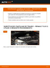 Como realizar a substituição de Pastilhas De Travão no 1.2 Renault Clio 2