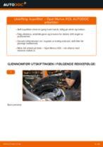 Slik bytter du kupefilter på en Opel Meriva X03 – veiledning