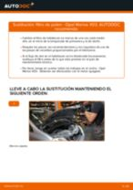 Manual de taller para OPEL MERIVA en línea