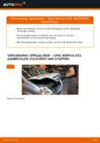 DAIHATSU Remslang achter en vóór veranderen doe het zelf - online handleiding pdf