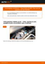 Hoe remklauw vooraan vervangen bij een Opel Zafira B A05 – vervangingshandleiding