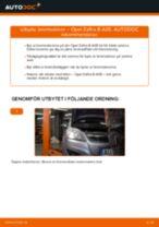Byta bromsskivor bak på Opel Zafira B A05 – utbytesguide