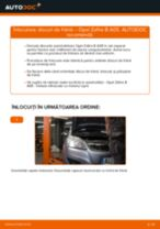 Cum să schimbați: discuri de frână din spate la Opel Zafira B A05 | Ghid de înlocuire