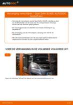 Hoe remschijven achteraan vervangen bij een Opel Zafira B A05 – vervangingshandleiding