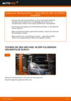 Bremsscheiben hinten selber wechseln: Opel Zafira B A05 - Austauschanleitung