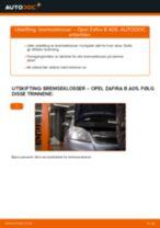 Mekanikerens anbefalinger om bytte av OPEL Opel Zafira f75 1.8 16V (F75) Støtdemper