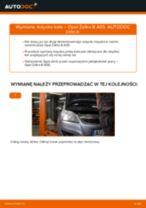 Jak wymienić łożysko koła tył w Opel Zafira B A05 - poradnik naprawy