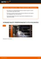 Jak wymienić łożysko koła przód w Opel Zafira B A05 - poradnik naprawy