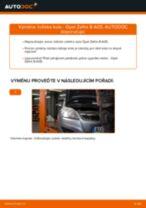 Jak vyměnit zadní ložisko kola na Opel Zafira B A05 – návod k výměně