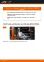 Kuidas vahetada Opel Zafira B A05 taga-rattalaagri – õpetus