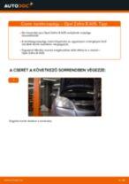 Elülső kerékcsapágy-csere Opel Zafira B A05 gépkocsin – Útmutató