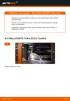 Kaip pakeisti Opel Zafira B A05 rato guolio: priekis - keitimo instrukcija