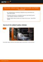 Cum să schimbați: rulment roata din spate la Opel Zafira B A05 | Ghid de înlocuire
