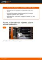 Auswechseln Radlagersatz OPEL ZAFIRA: PDF kostenlos