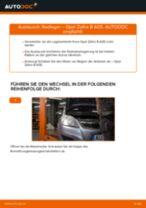 Wie Opel Zafira B A05 Radlager hinten wechseln - Schritt für Schritt Anleitung