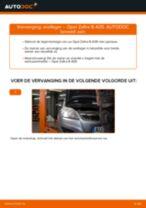 Wiellager veranderen OPEL ZAFIRA: werkplaatshandboek