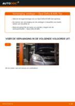 Zelf Wiellagerset achter en vóór vervangen OPEL - online handleidingen pdf