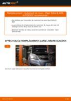 Comment changer : roulement de roue arrière sur Opel Zafira B A05 - Guide de remplacement