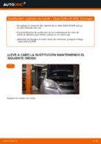 Cómo cambiar: cojinete de rueda de la parte delantera - Opel Zafira B A05 | Guía de sustitución