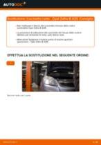 Come cambiare cuscinetto ruota della parte anteriore su Opel Zafira B A05 - Guida alla sostituzione